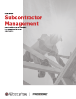 Case Study: Subcontractor Management