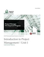 PMDP Unit 1: Introduction to Project Management - PM
